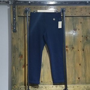 MICHAEL KORS DARK NAVY BLUE STRETCH PANTS